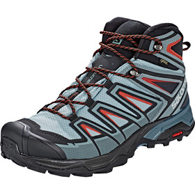 Salomon X Ultra 3 Mid GTX Sko Herrer, lead/stormy weather/bossa nova